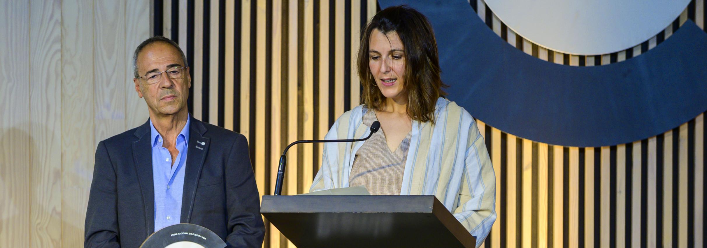 El Dansàneu rep el Premi Nacional de Cultura 2021 que atorga el CoNCA - DANSÀNEU - FESTIVAL DE CULTURES DEL PIRINEU