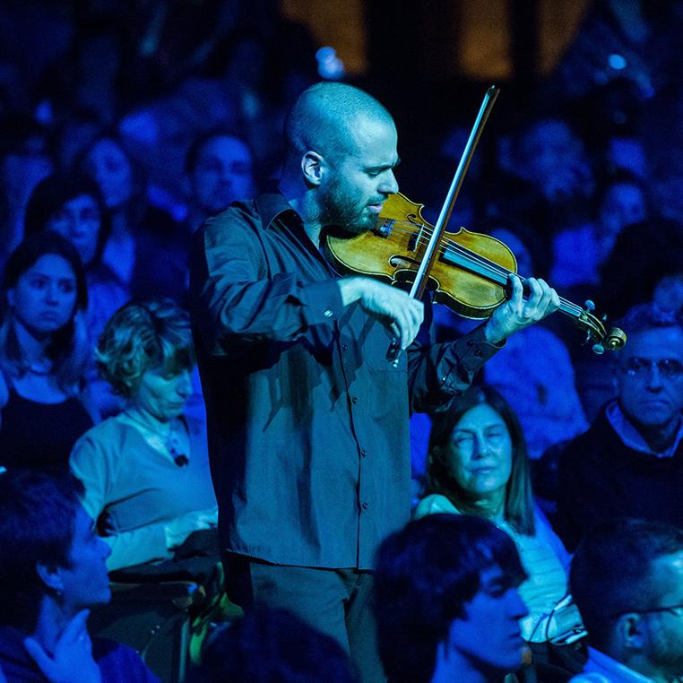 JOEL BARDOLET, violí. Amb la col·laboració de MAL PELO, María Muñoz i Pep Ramis
