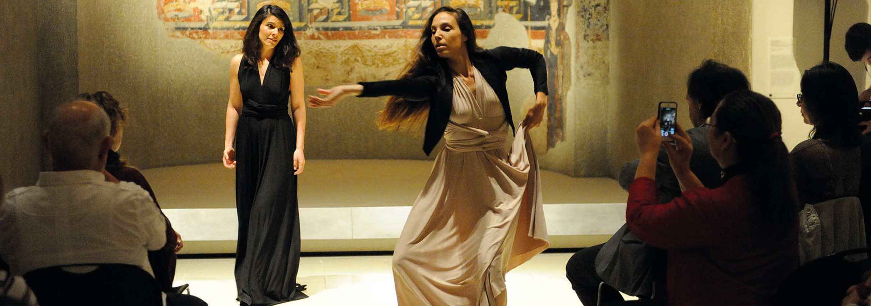 El Dansàneu avança al MNAC un fragment de Nuà i ho marida amb productes pallaresos - DANSÀNEU - FESTIVAL DE CULTURES DEL PIRINEU